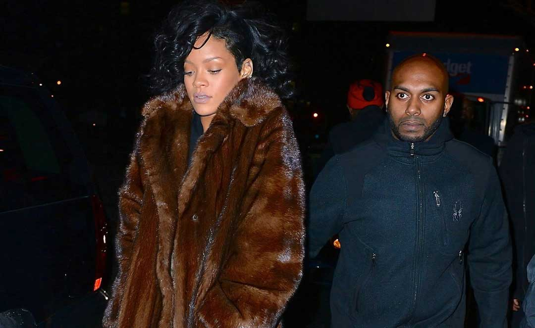 Rihanna parties all night at Marquee NYC | Celebrity Sightings