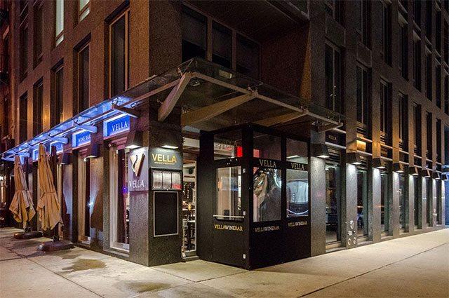 Vella Wine Bar Kitchen New York Ny