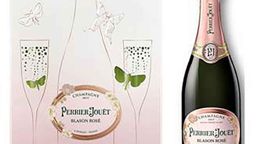 Mother's Day Gift Alert: Perrier-Jouët Rosé Bubbly