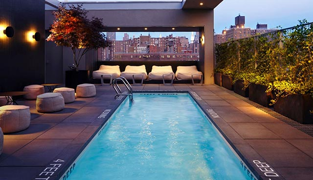 Where to sip cocktails poolside in nyc thirsty for La piscine drink