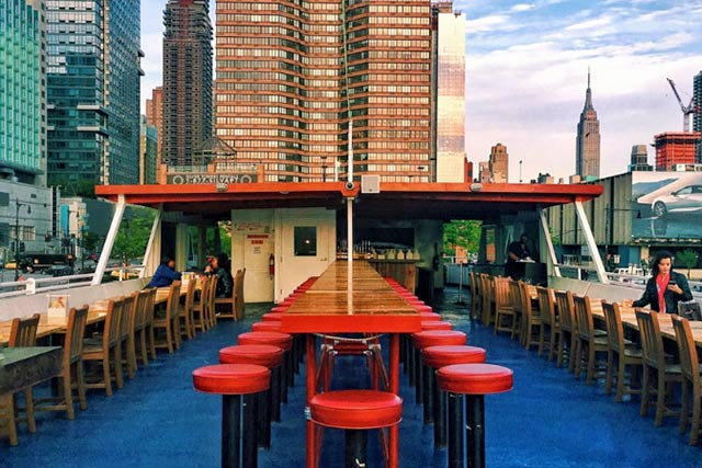 Head to North River Lobster Company for Booze With a View