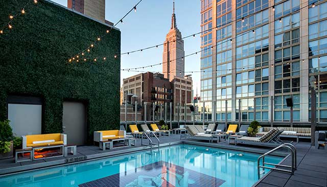 Park Rooftop Pool Park Avenue