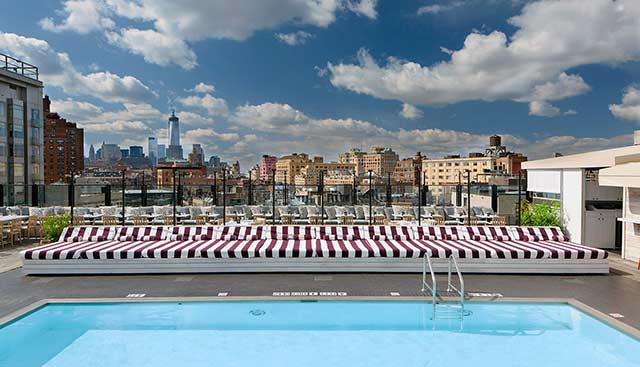 Soho House Rooftop Pool Meatpacking