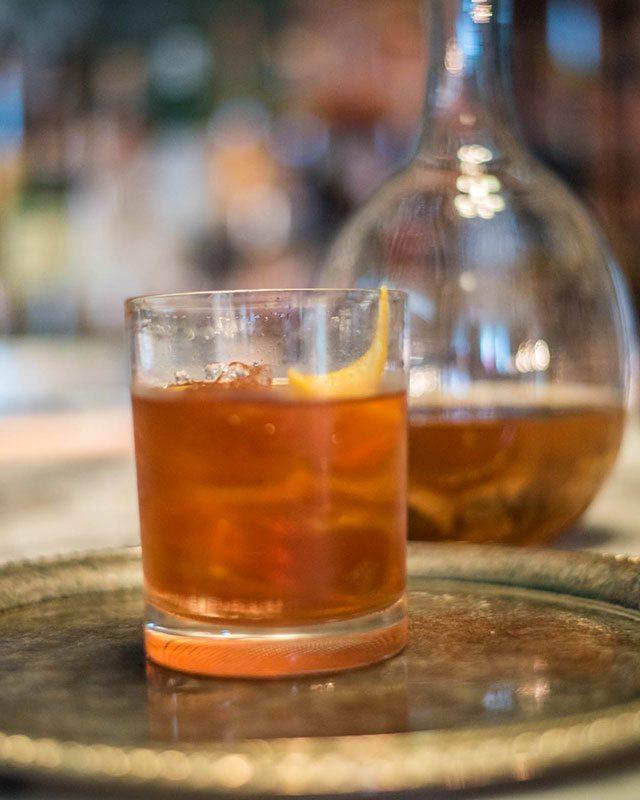 Sanatorium Tea Infused Old Fashioned