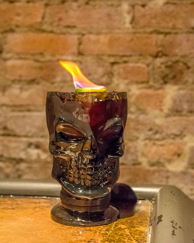 El Infierno Casa Neta Halloween Cocktails
