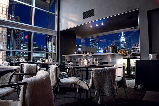 The best winter rooftops in new york city thirsty for Hotel americano nyc