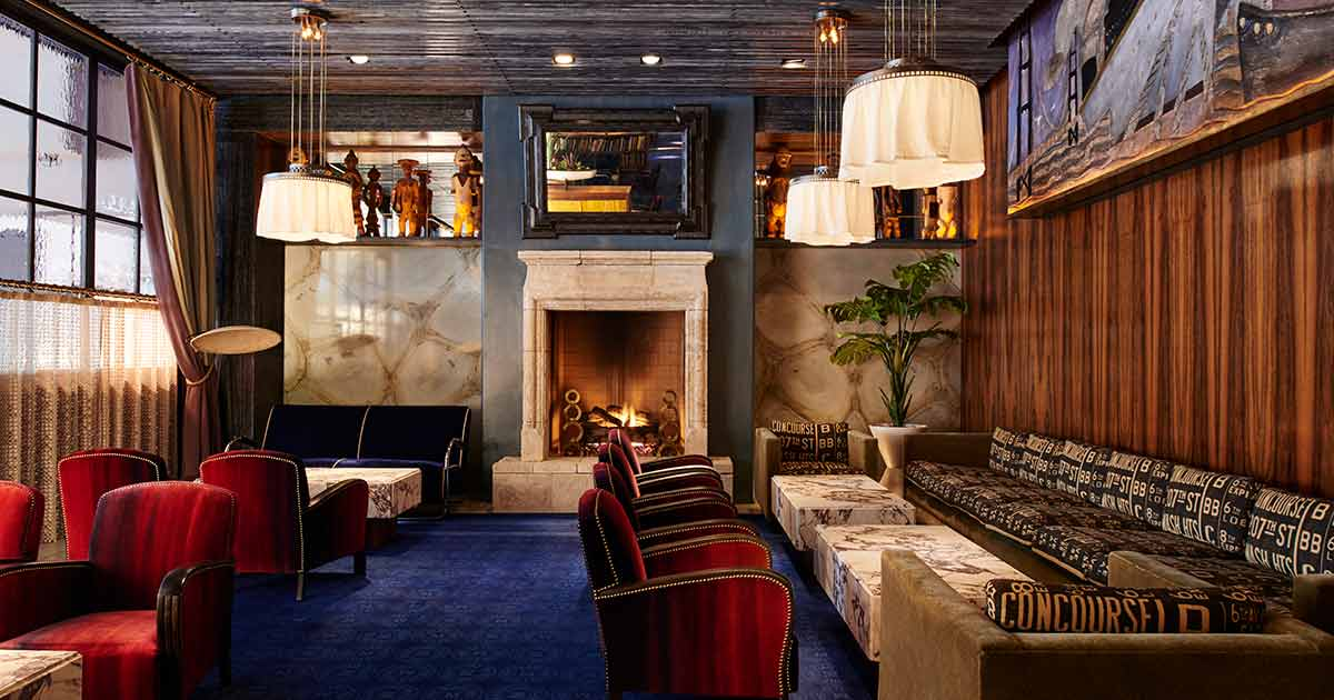Local Stone Fireplaces In Hoyt Park >> Warm Up This Winter At These Bars With Fireplaces In Nyc Thirsty
