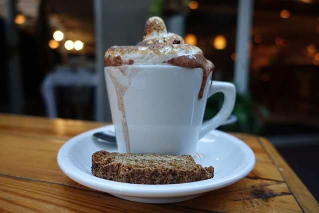 Higgle Hot Chocolate at Ariete