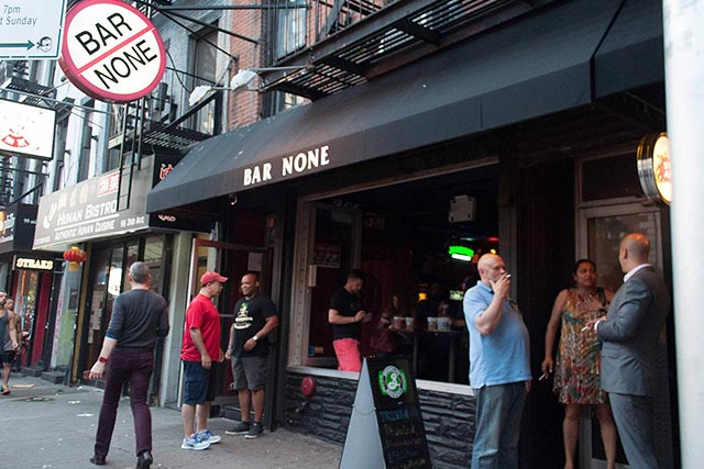 Bar None Minnesota Vikings Bar New York City