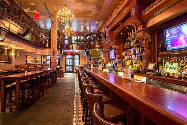 Bourbon Street Bar Grille New Orleans Saints Bar