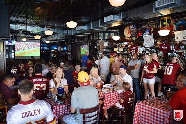 Dorrian's New York City Washington Redskins Team Bar