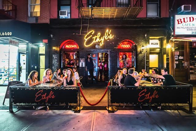 Ethyl's Alcohol and Food