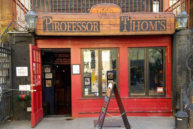 Professor Thoms Bar and Restaurant New England Patriots Bar