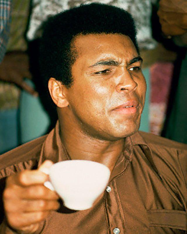 Drinking Tea with Muhammad Ali