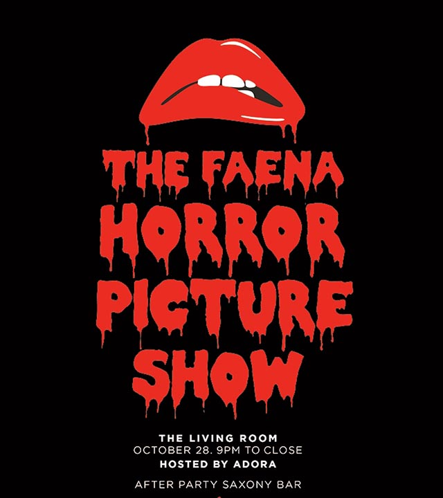 The Rocky Horror Cocktail Party At Faena Miami Beach
