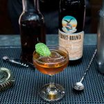 New York, NY: Fernet Branca dinner at the Tasting Table Test Kitchen & Dining Room with Michael Cirino.