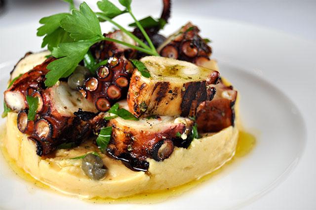 greek-wine-dinner-milos-miami-grilled-octopus-and-revythada