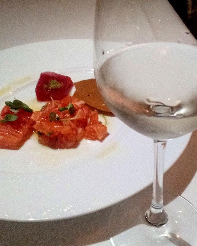 greek-wine-dinner-milos-miami-sidiritus-raw-fish-2